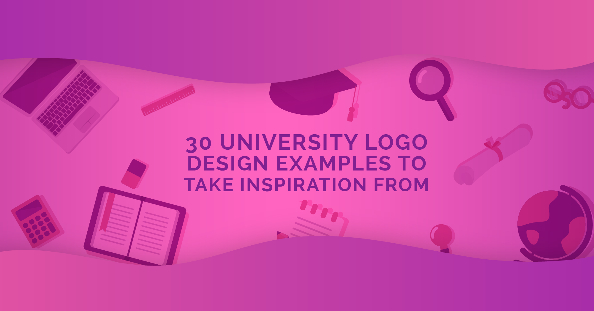 30 University Logo Design Examples to Take Inspiration From