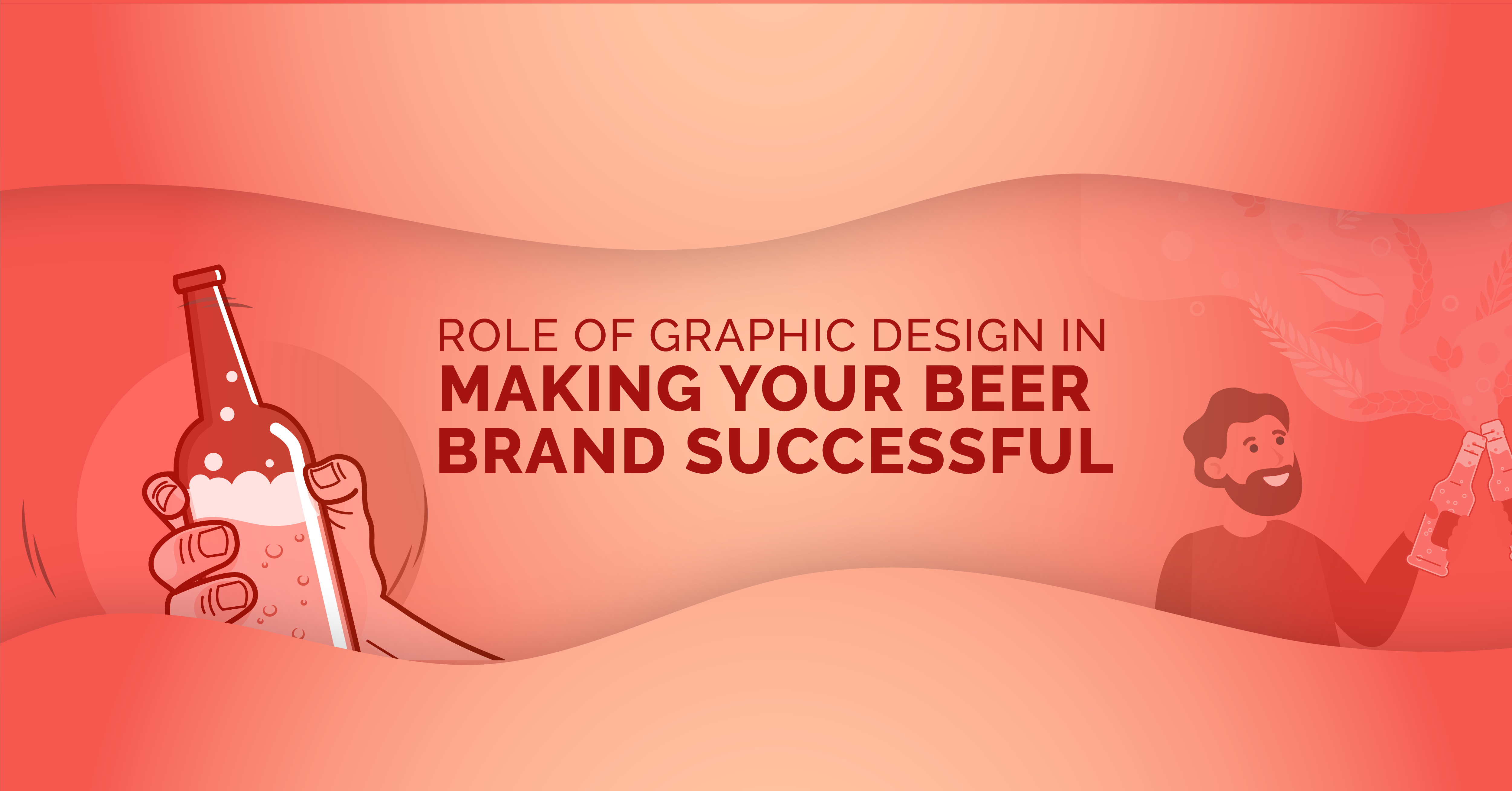 Role of graphic design in making your beer brand successful