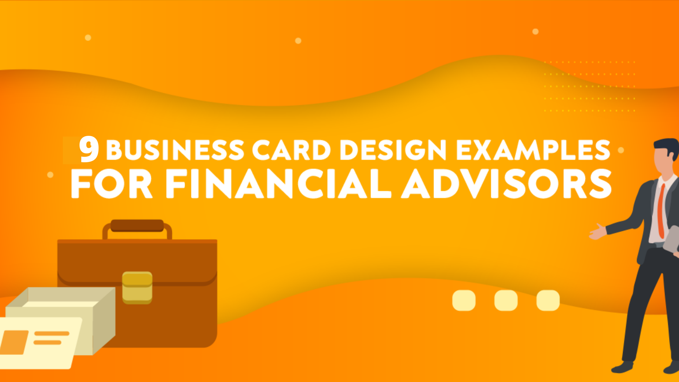 9 Business Card Design Examples for Financial Advisors