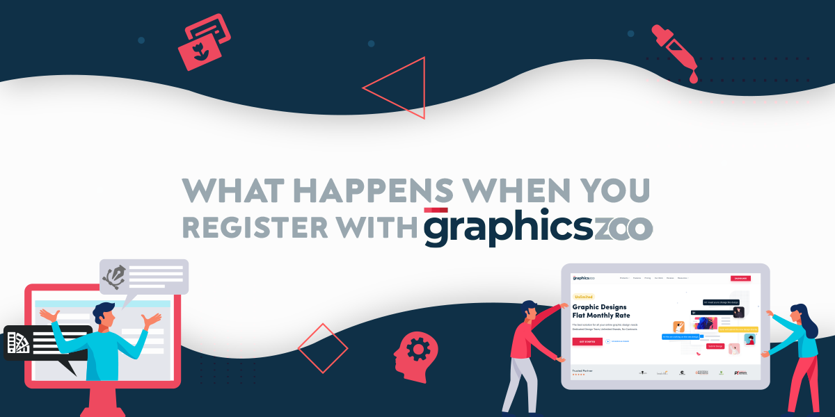 What Happens When You Register With GraphicsZoo - Design Process Exp...