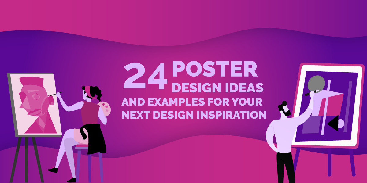 24 Poster Design Ideas And Examples For Your Next Design Inspiration...
