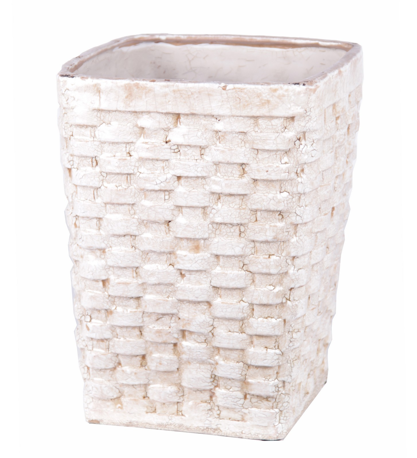 Privilege Large Ceramic Weave Basket 66657