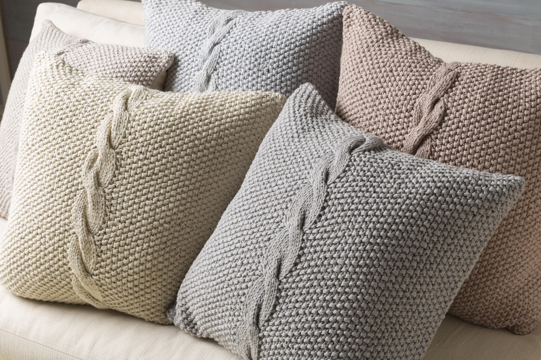 Surya Genevieve Gray 20-inch Pillow Cover | eBay