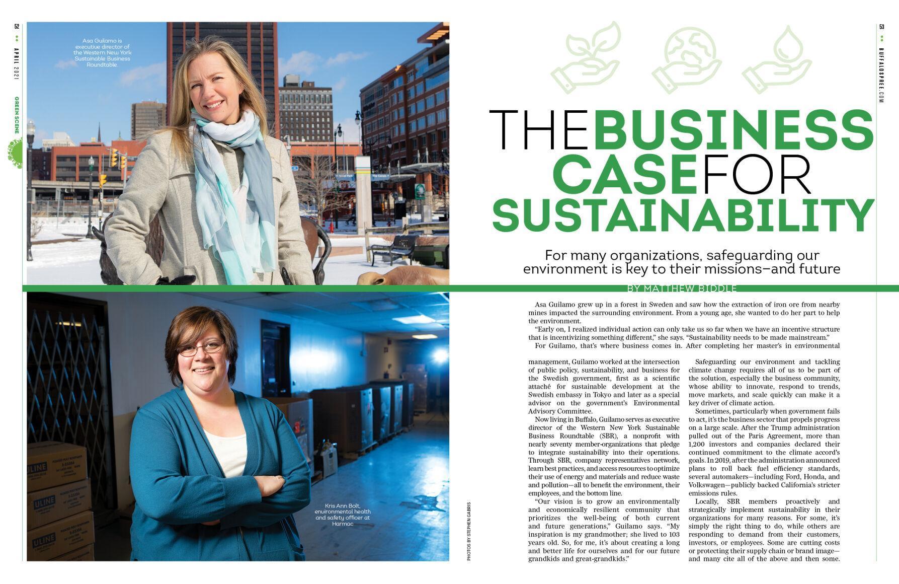 Buffalo Spree Sustainability