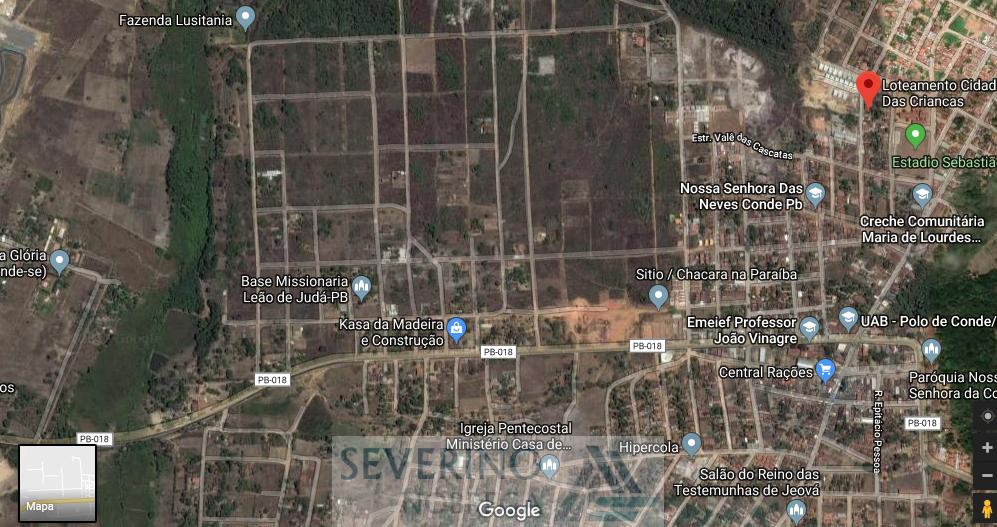 terreno conde loteamento cidade das crianças 02 terrenos 24x30