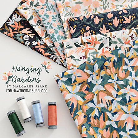Margaret Jeane - Hanging Gardens Fabric Collection