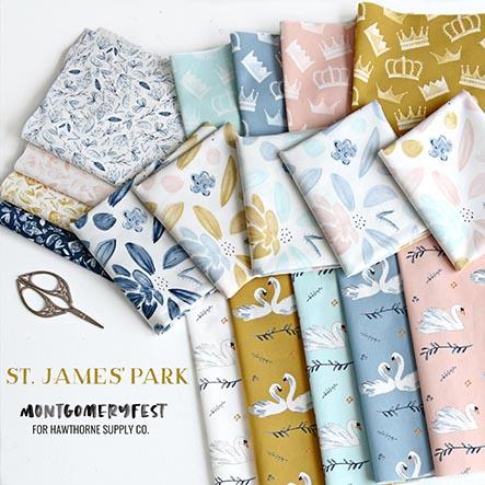 St. James's Park - MontgomeryFest Fabric Collection