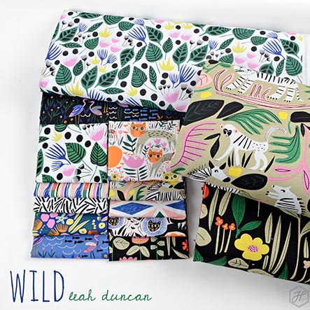 Wild - Leah Duncan Fabric Collection