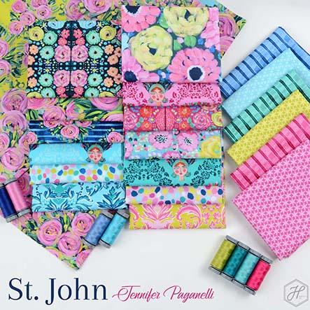 St. John - Jennifer Paganelli Fabric Collection