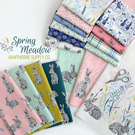 Spring Meadow - Hawthorne Supply Co Fabric Collection