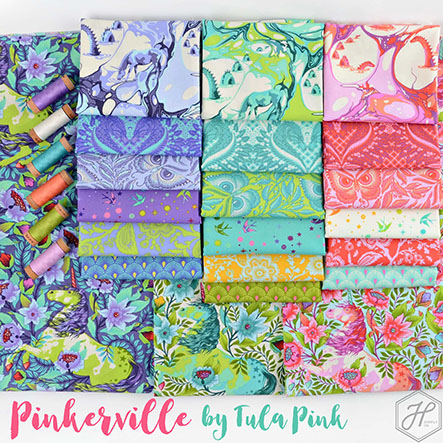 Pinkerville - Tula Pink Fabric Collection