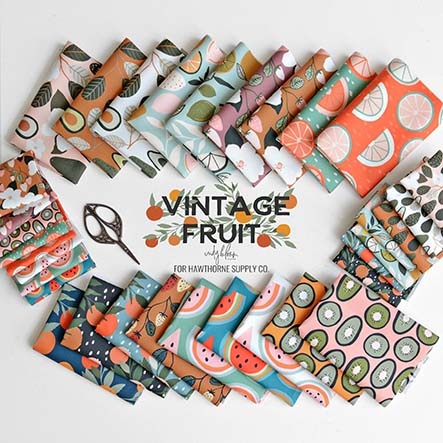 Vintage Fruit - Indy Bloom Fabric Collection