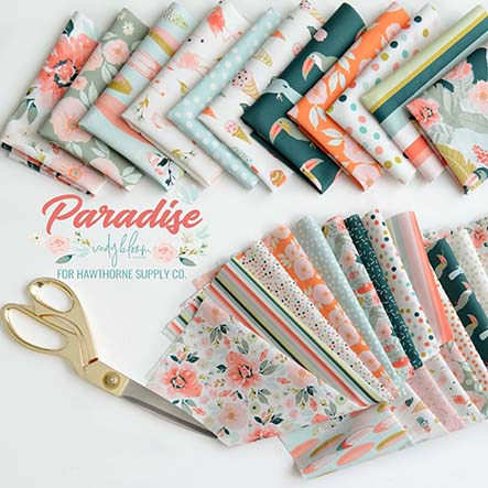 Paradise - Inide Bloom Fabric Collection