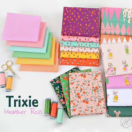 Trixie - Heather Ross Fabric Collection