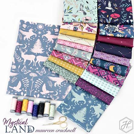 Mystical Land - Alba Glisten Fabric Collection