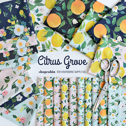 Citrus Grove - Shopcabin Fabric Collection