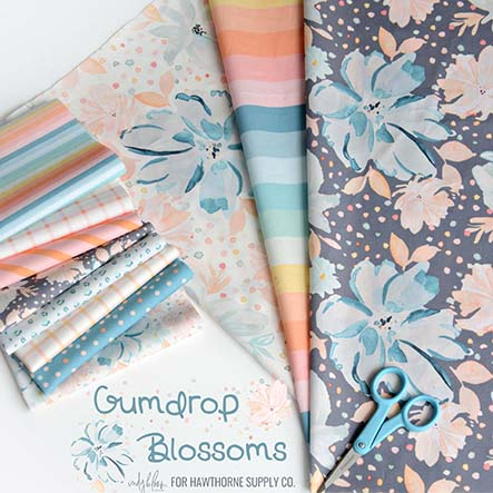 Gumdrop Blossoms - Indy Bloom Fabric Collection