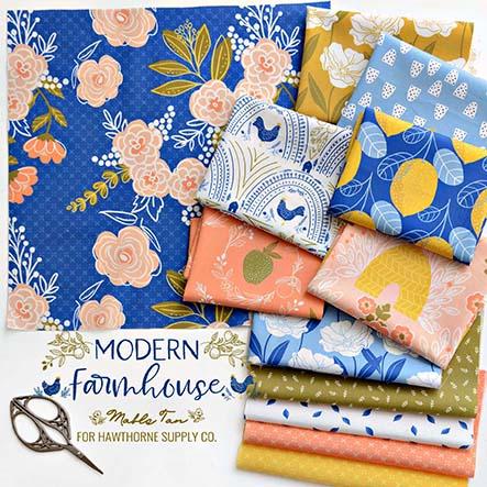 Modern Farmhouse - Mable Tan Fabric Collection