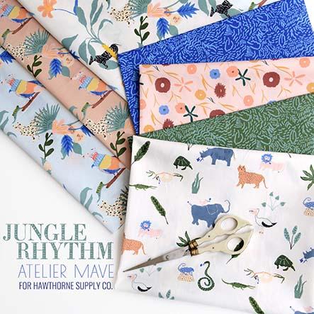 Jungle Rhythm - Atelier Mave Fabric Collection