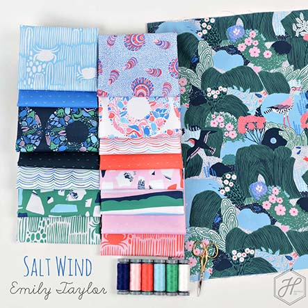 Salt Wind - Emily Taylor Fabric Collection
