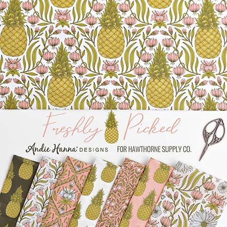 Freshly Picked - Andie Hanna Fabric Collection