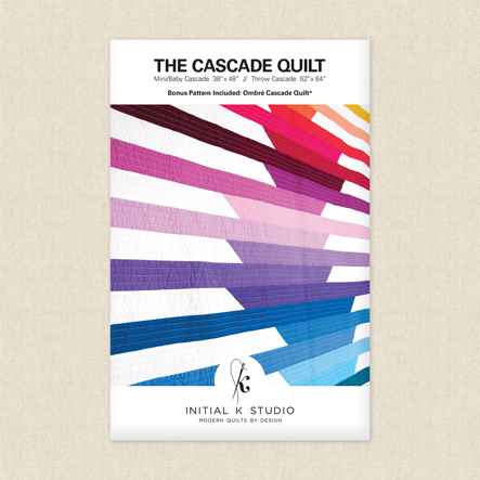 Cascade Quilt Sewing Pattern
