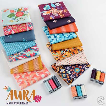 Mathew Boudreaux - Aura Fabric Collection