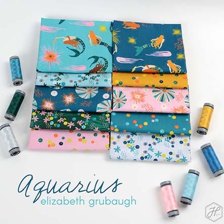 Elizabeth Grubaugh - Aquarius Fabric Collection