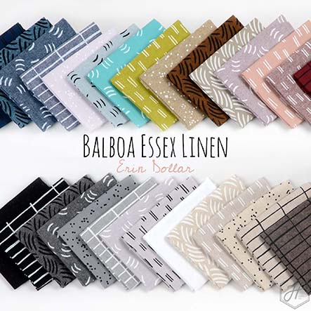 Erin Dollar - Balboa Essex Linen Fabric Collection