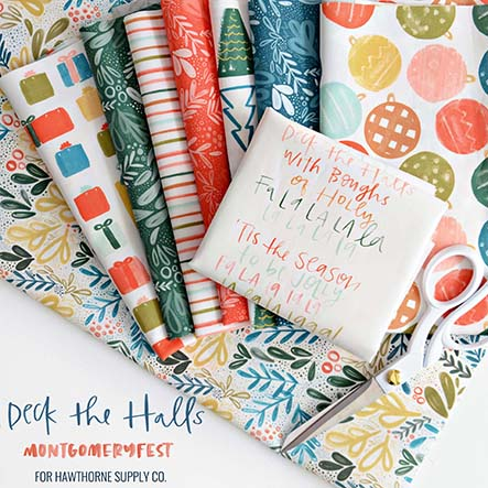 MontgomeryFest - Deck the Halls Fabric Collection