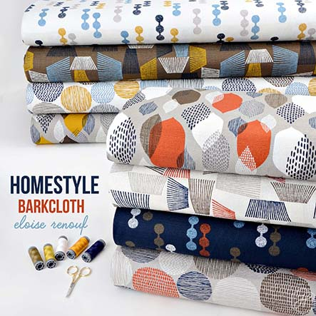 Eloise Renouf - Homestyle Barkcloth Fabric Collection