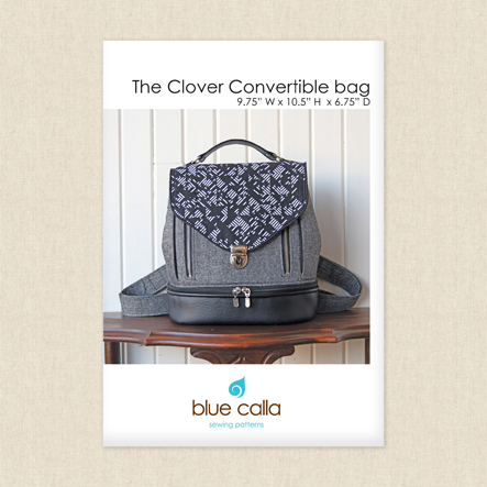 Clover Convertible Bag Sewing Pattern