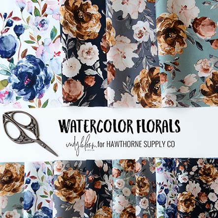 Watercolor Florals by Indy Bloom