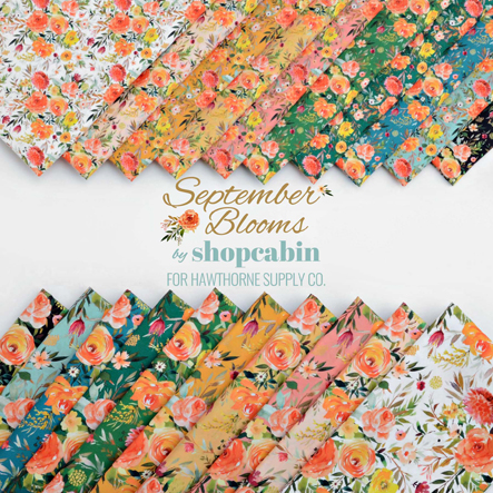 Shopcabin - September Blooms Fabric Collection