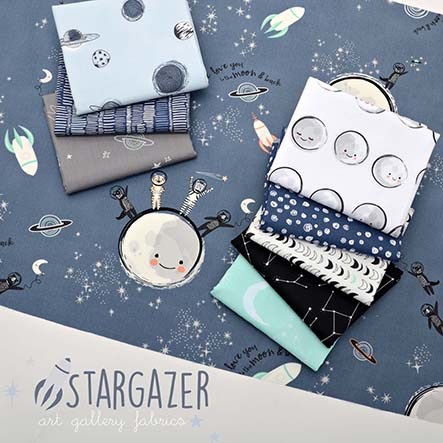 Art Gallery Fabrics Studio - Capsules Stargazer Fabric Collection