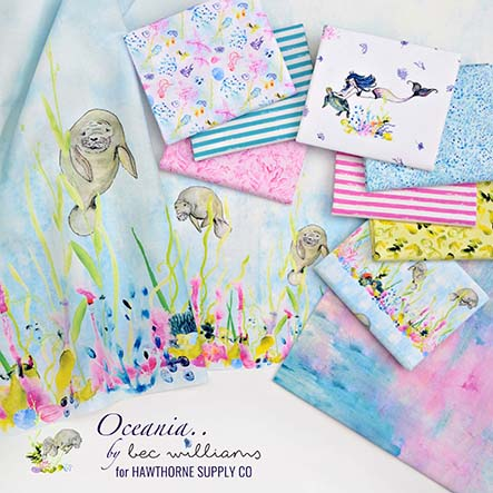 Bec Williams - Oceania Fabric Collection