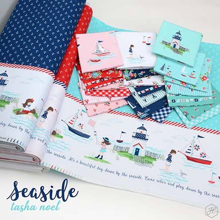 Tasha Noel - Seaside Fabric Collection