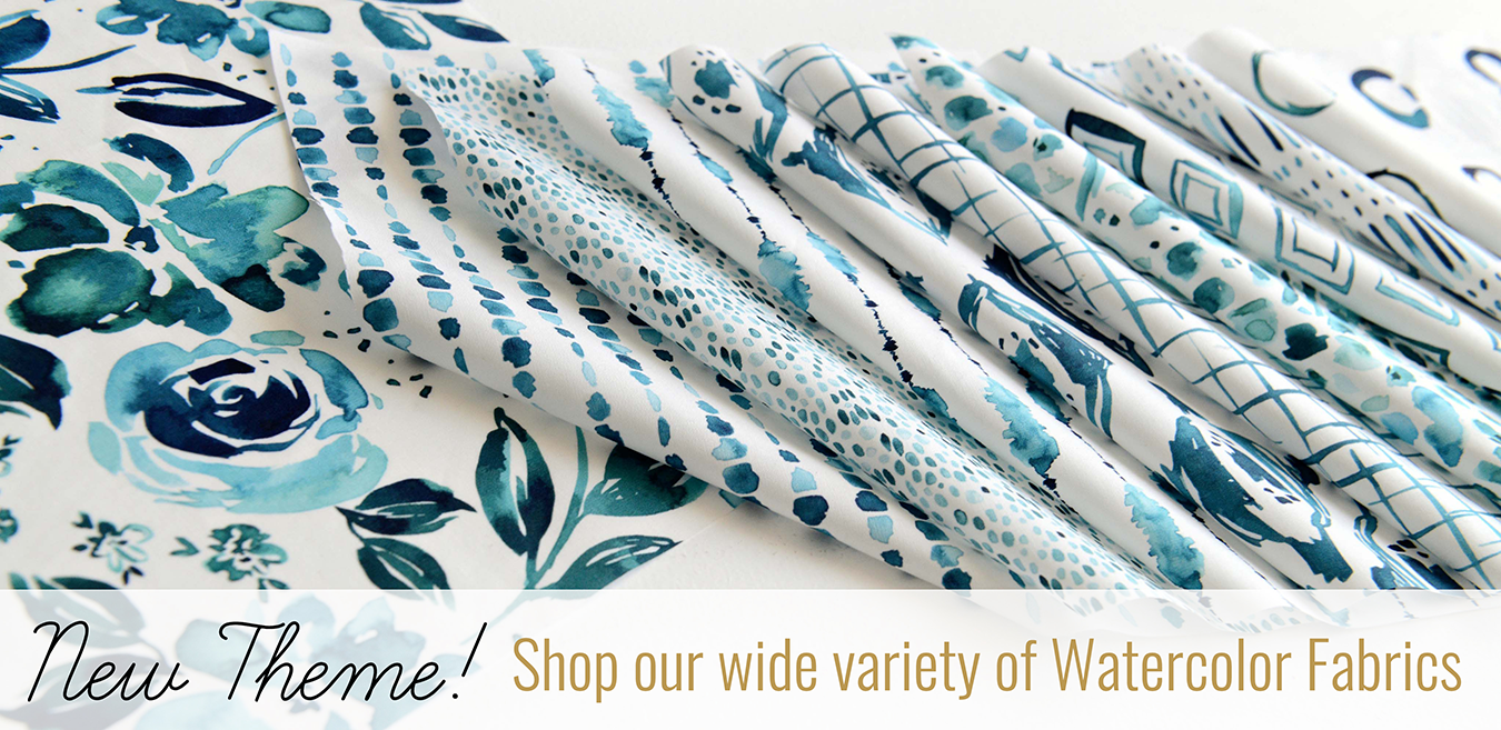 Hawthorne Supply Company Watercolor Theme Banner