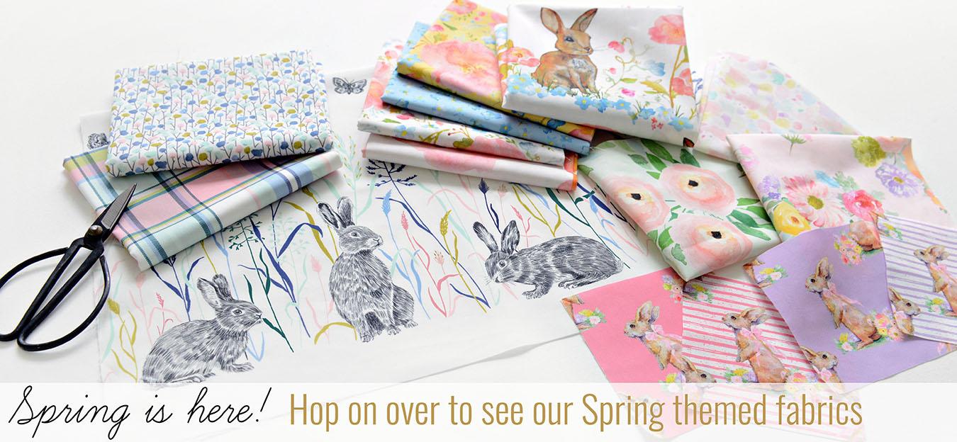 Hawthorne Supply Company Spring Theme Banner