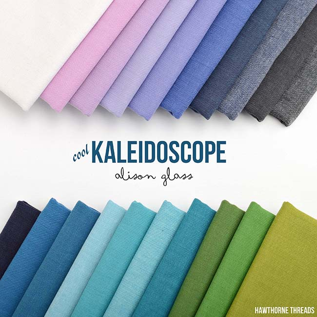Kaleidoscope Cool Fabric Collection - Alison Glass