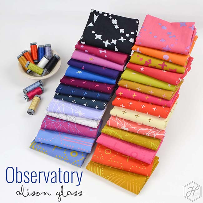 Observatory Fabric Collection - Alison Glass