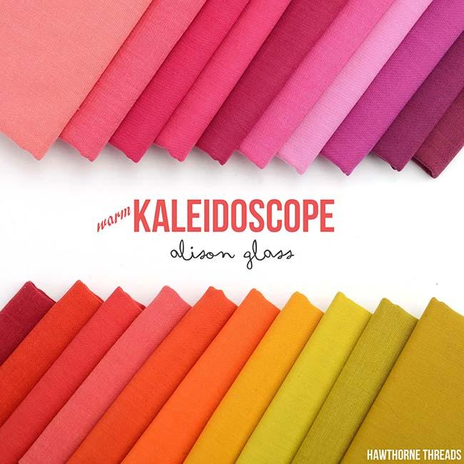 Kaleidoscope Warm Fabric Collection - Alison Glass