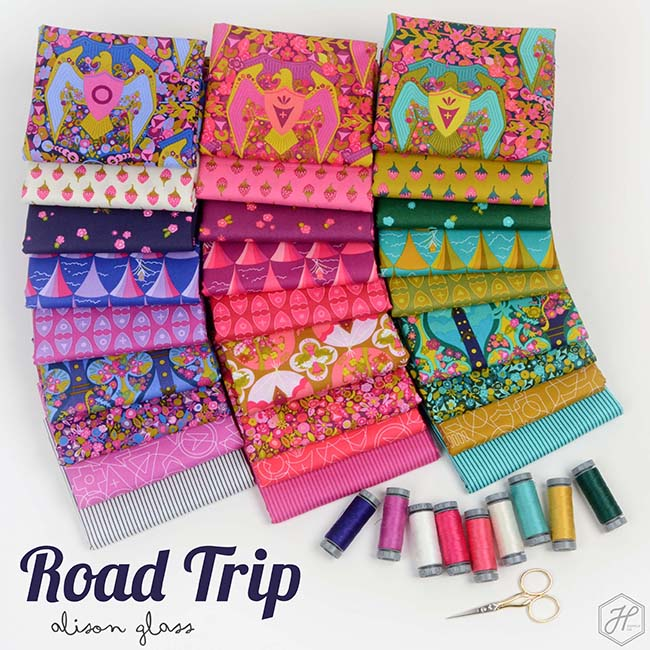 Road Trip Fabric Collection - Alison Glass