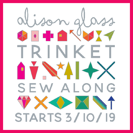 Alison Glass Trinket Quilt Sew Along