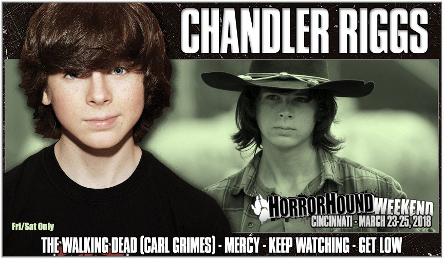 Chandler riggs is coming back to horrorhound horrorhound chandler riggs is coming back to horrorhound m4hsunfo