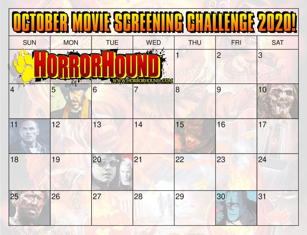 Halloween 2020 Screening October Movie Screening Challenge 2020   HorrorHound