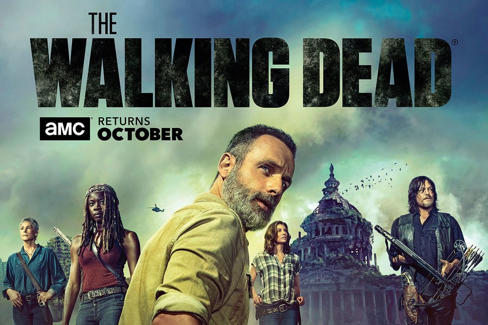 The Walking Dead Season 9 Poster Reveal Horrorhound