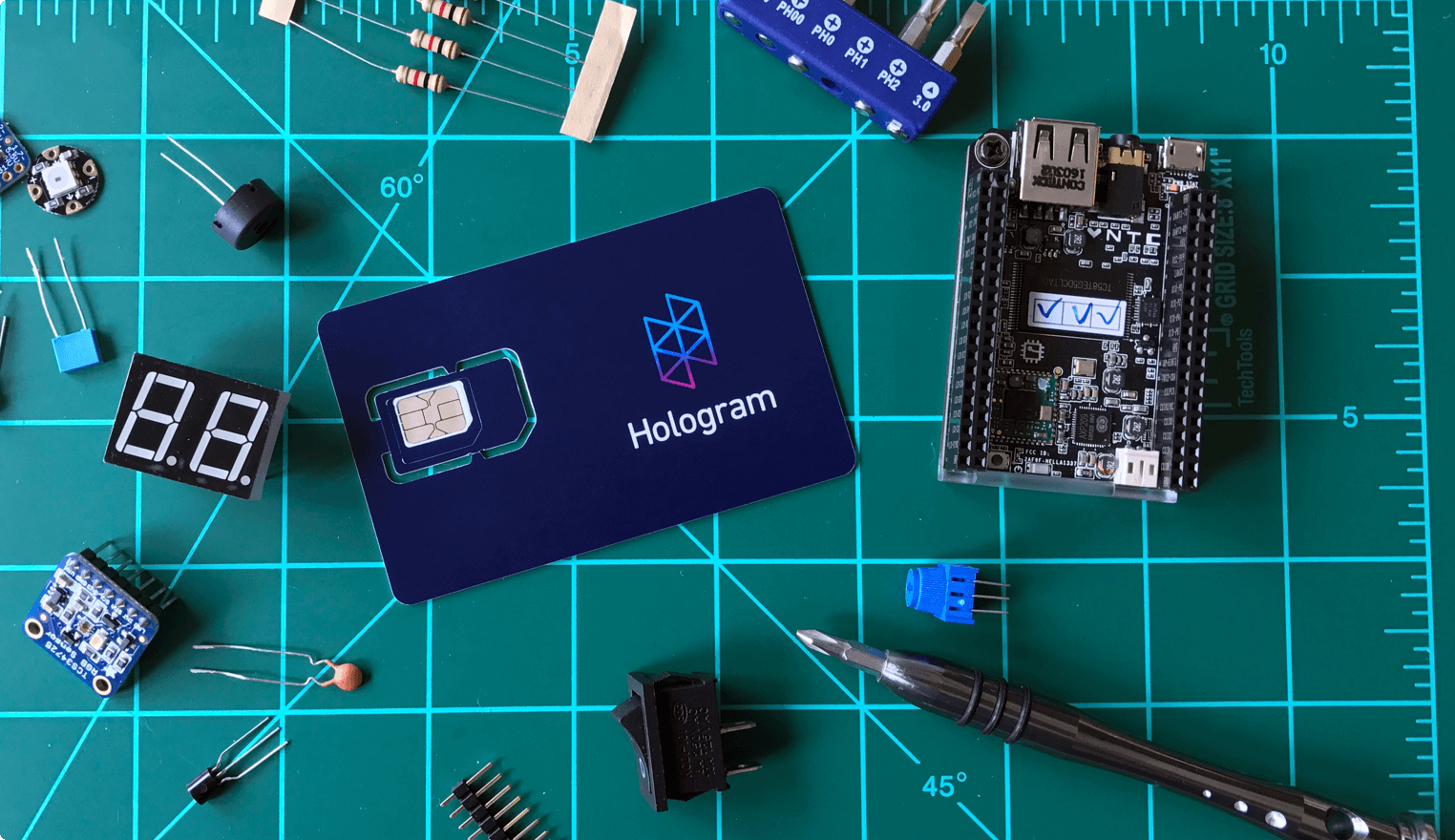 Maker Pricing Hologram Free Circuits Electronics Projects Start With A Sim And Data