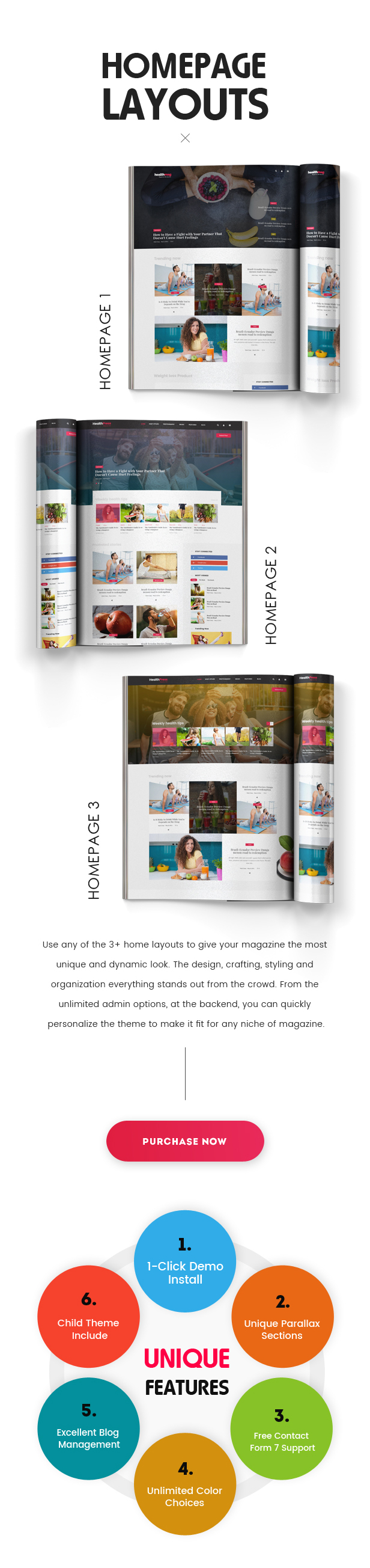 DailyHealth - A Professional Health and Medical Blog and Magazine WordPress Theme - 4
