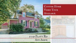 2709 Platt Road, Ann Arbor, MI, 48104